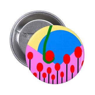Modegg Welt Runder Button 5,7 Cm