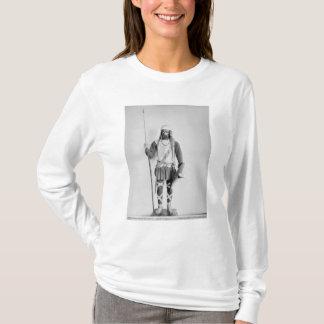 Modell eines Frankish Kriegers T-Shirt