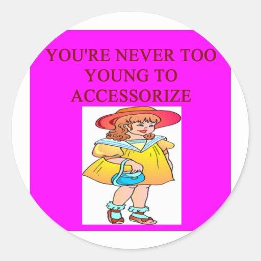 Modemädchen Sticker