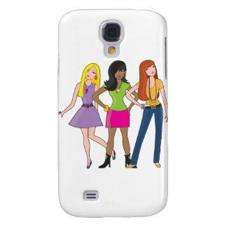 Modemädchen Galaxy S4 Hülle