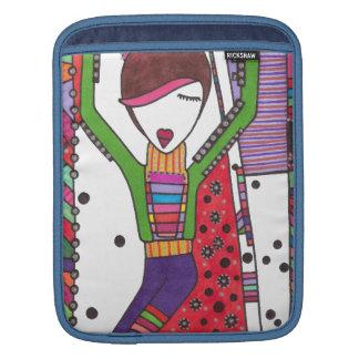 Modemädchen iPad Sleeves