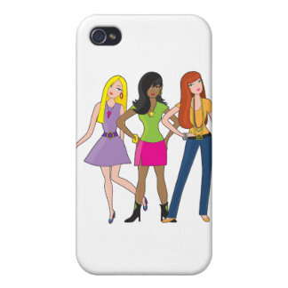 Modemädchen iPhone 4/4S Hülle