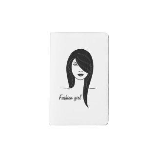 Modemädchen Moleskine Taschennotizbuch