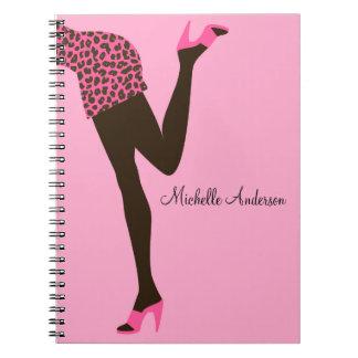 Modemädchen Notizbuch