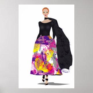 Modemädchen Poster