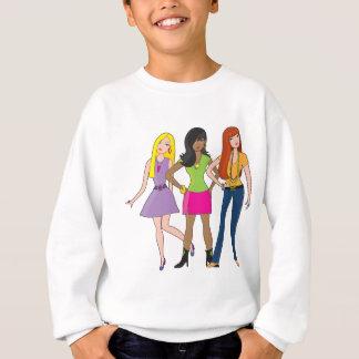 Modemädchen Sweatshirt
