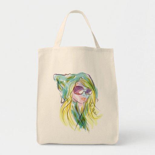 Modemädchen Tasche
