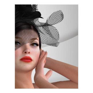 Modemädchen Perfektes Poster