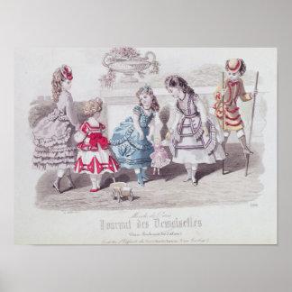 Moden für Mädchen, von 'Zeitschriften-DES Poster