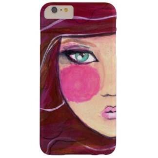 Modern Girl Cellphone Case Barely There iPhone 6 Plus Hülle