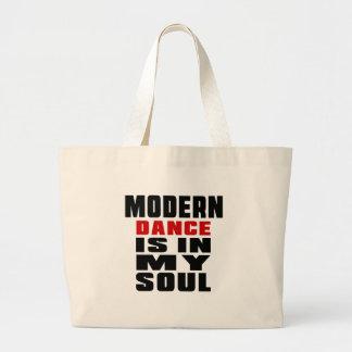 MODERN ist in meinem Soul Jumbo Stoffbeutel