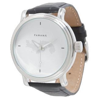 Modern: Panama-Karte Uhr