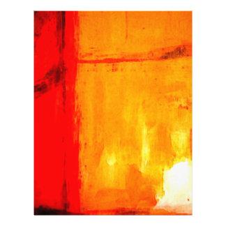 Moderne abstrakte Malerei 21,6 X 27,9 Cm Flyer