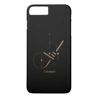 moderne arabische Kalligraphie - der Libanon iPhone 8 Plus/7 Plus Hülle