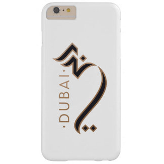 moderne arabische Kalligraphie - Dubai Barely There iPhone 6 Plus Hülle