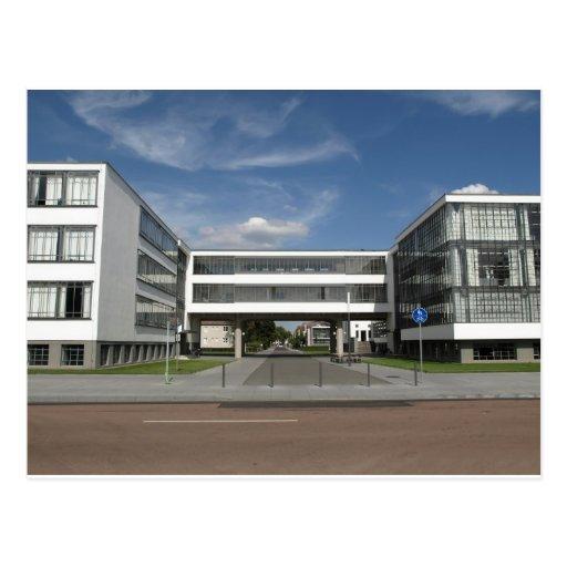 Moderne Architektur Dessau Deutschland Südberlin Postkarte