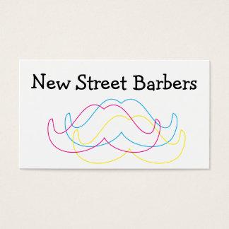 Moderne Art Schnurrbart-Visitenkarte Visitenkarte
