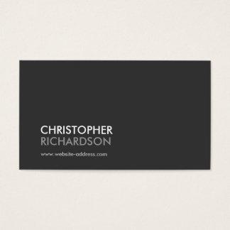 MODERNE BERUFLICHE Geschäfts-Karte Nr. 1 Visitenkarten