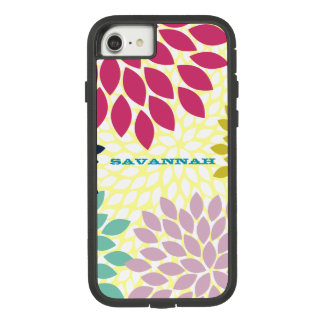 Moderne Chrysantheme personalisierter iPhone Fall Case-Mate Tough Extreme iPhone 8/7 Hülle
