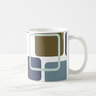 Moderne Eames Rechtecke 1 Kaffeetasse