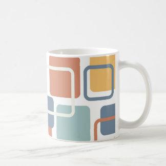 Moderne Eames Rechtecke 3 Kaffeetasse