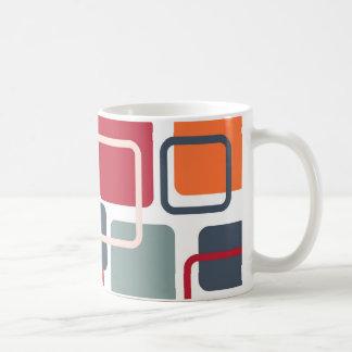 Moderne Eames Rechtecke 4 Kaffeetasse