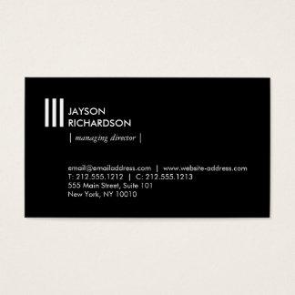 Moderne einfache Architektur, Bau, Entwurf 4 Visitenkarte