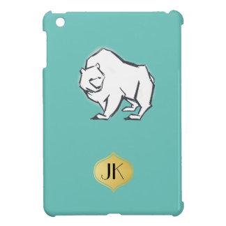 Moderne, einfache u. schöne Hand gezeichneter Bär iPad Mini Hülle