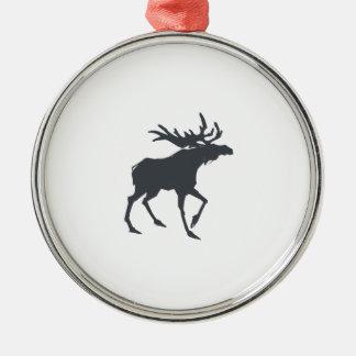 Moderne, einfache u. schöne Hand gezeichnetes Silbernes Ornament