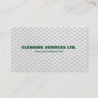 Modern Unique Green White Cleaning Services