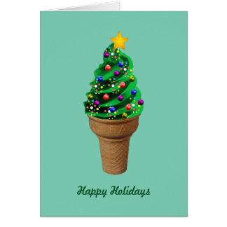 Moderner weihnachtsbaum gru mitteilungskarten for Weihnachtsbaum fa r fensterbank