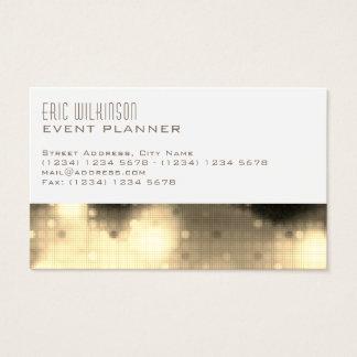 Moderne elegante Musterschablonenlichter Visitenkarte