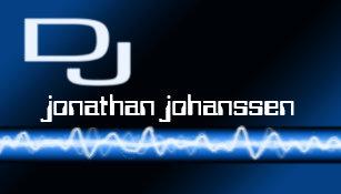 Moderne Elektrische Berufliche DJ Geschafts Karte Visitenkarte