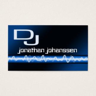 Moderne elektrische berufliche DJ-Geschäfts-Karte Visitenkarten