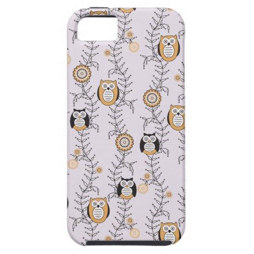 Moderne Eulen iPhone 5 Case-Mate stark