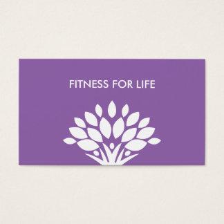 Moderne Fitness Visitenkarte