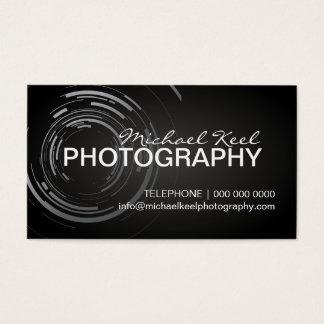 Moderne Fotograf-Visitenkarten Visitenkarten