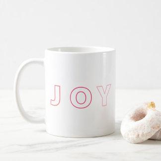 Moderne Freude Ombre rosaroter Weihnachtsfeiertag Kaffeetasse