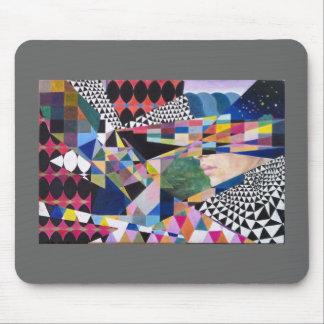 Moderne geometrische Kunst Mauspads