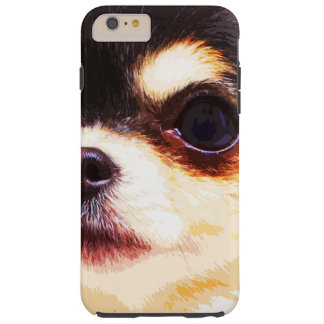moderne große Chihuahua Tough iPhone 6 Plus Hülle