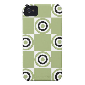 Moderne grüne Ziele iPhone 4 Cover