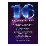 moderne hervorragende 16 Geburtstagseinladungen Individuelle Einladung