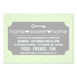 Moderne Housewarming-Party Einladungen