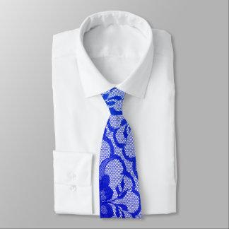 Moderne königliche Kobalt-Blau-Saphir-Spitze Individuelle Krawatten