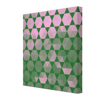 Moderne lila Hexe-grafischer Entwurf Leinwanddruck