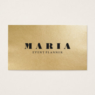 Moderne LuxusImitatgoldschwarzbeschaffenheit Visitenkarten
