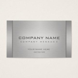 Moderne MetallVisitenkarten Visitenkarte