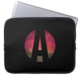 Moderne modische Hülse des dunkle Laptopschutzhülle