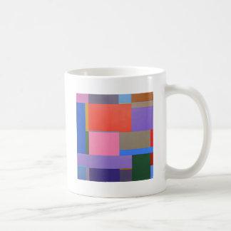 Moderne/Mondrian Kunst Kaffeetasse