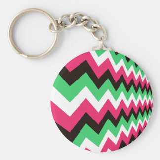Moderne rosa Mischungs-Sparren Schlüsselanhänger